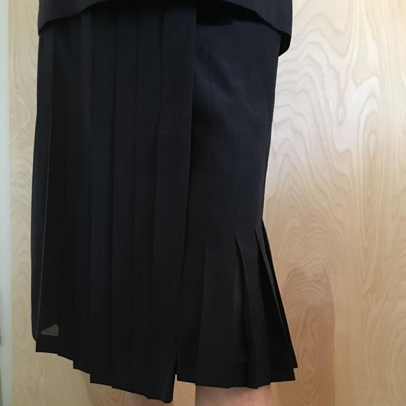 7b7077535c TSE Skirts | Dsigner Navy Silk Skirt And Top | Poshmark